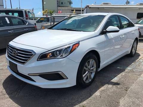 2016 Hyundai Sonata for sale at MIAMI AUTO LIQUIDATORS in Miami FL