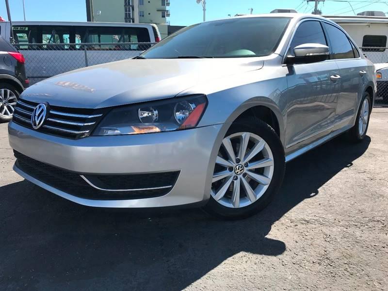 2012 Volkswagen Passat for sale at MIAMI AUTO LIQUIDATORS in Miami FL