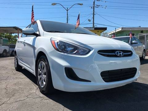 2016 Hyundai Accent for sale at MIAMI AUTO LIQUIDATORS in Miami FL