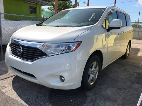 2016 Nissan Quest for sale at MIAMI AUTO LIQUIDATORS in Miami FL