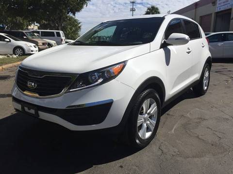 2013 Kia Sportage for sale at MIAMI AUTO LIQUIDATORS in Miami FL