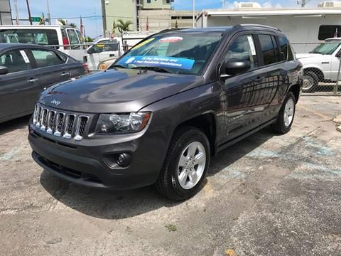 2015 Jeep Compass for sale at MIAMI AUTO LIQUIDATORS in Miami FL