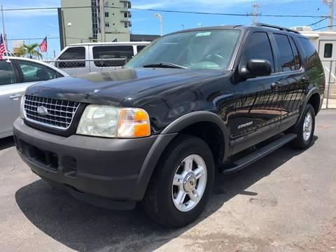 2004 Ford Explorer for sale at MIAMI AUTO LIQUIDATORS in Miami FL