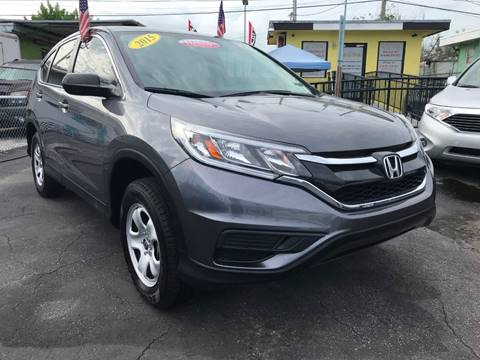 2015 Honda CR-V for sale at MIAMI AUTO LIQUIDATORS in Miami FL