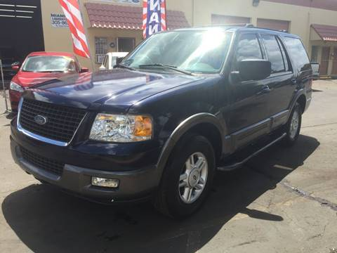 2004 Ford Expedition for sale at MIAMI AUTO LIQUIDATORS in Miami FL