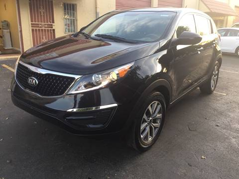 2014 Kia Sportage for sale at MIAMI AUTO LIQUIDATORS in Miami FL