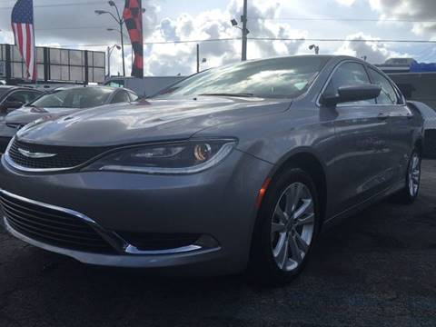 2015 Chrysler 200 for sale at MIAMI AUTO LIQUIDATORS in Miami FL