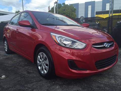 2015 Hyundai Accent for sale at MIAMI AUTO LIQUIDATORS in Miami FL