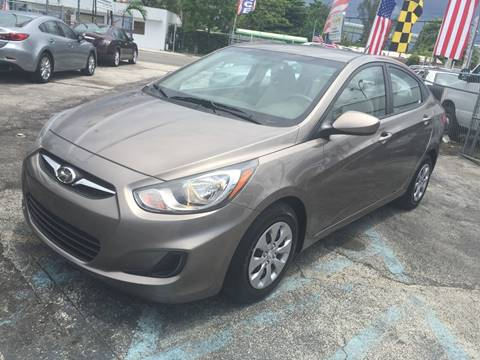 2014 Hyundai Accent for sale at MIAMI AUTO LIQUIDATORS in Miami FL