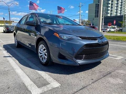 2019 Toyota Corolla LE for sale at MIAMI AUTO LIQUIDATORS in Miami FL