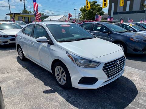 2019 Hyundai Accent SE for sale at MIAMI AUTO LIQUIDATORS in Miami FL