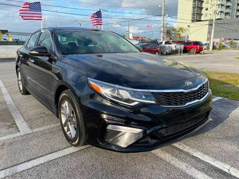 2019 Kia Optima for sale at MIAMI AUTO LIQUIDATORS in Miami FL