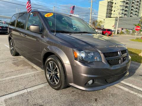 2018 Dodge Grand Caravan GT for sale at MIAMI AUTO LIQUIDATORS in Miami FL