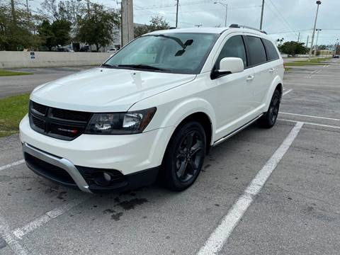 2018 Dodge Journey Crossroad for sale at MIAMI AUTO LIQUIDATORS in Miami FL