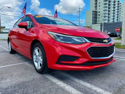 2018 Chevrolet Cruze LT Auto for sale at MIAMI AUTO LIQUIDATORS in Miami FL