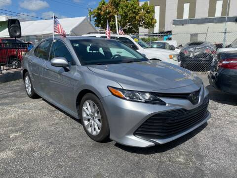 2018 Toyota Camry for sale at MIAMI AUTO LIQUIDATORS in Miami FL
