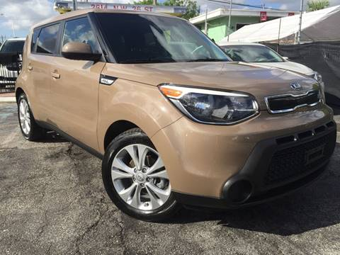 2015 Kia Soul for sale at MIAMI AUTO LIQUIDATORS in Miami FL