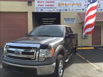 2013 Ford F-150 for sale at MIAMI AUTO LIQUIDATORS in Miami FL