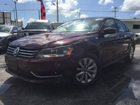 2012 Volkswagen Passat for sale at MIAMI AUTO LIQUIDATORS in Miami FL
