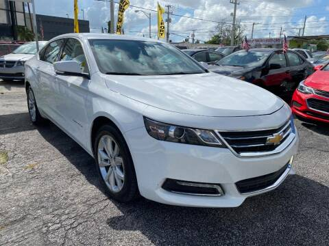 2018 Chevrolet Impala for sale at MIAMI AUTO LIQUIDATORS in Miami FL