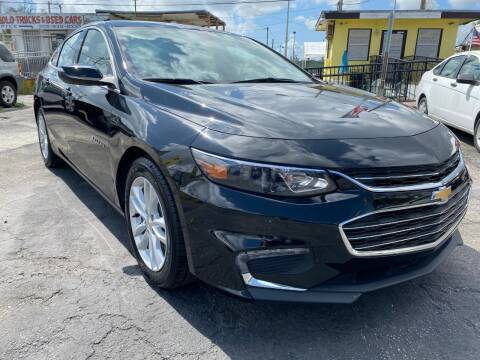 2018 Chevrolet Malibu for sale at MIAMI AUTO LIQUIDATORS in Miami FL