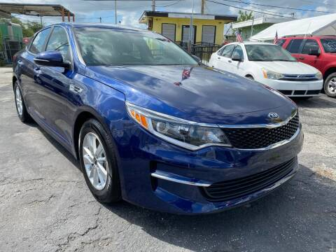 2018 Kia Optima for sale at MIAMI AUTO LIQUIDATORS in Miami FL