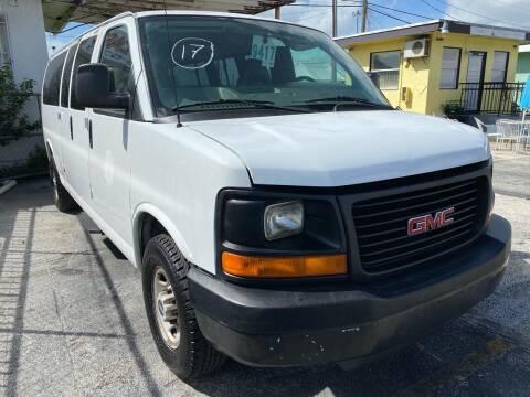 2008 GMC Savana Passenger for sale at MIAMI AUTO LIQUIDATORS in Miami FL