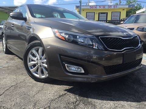 2015 Kia Optima for sale at MIAMI AUTO LIQUIDATORS in Miami FL