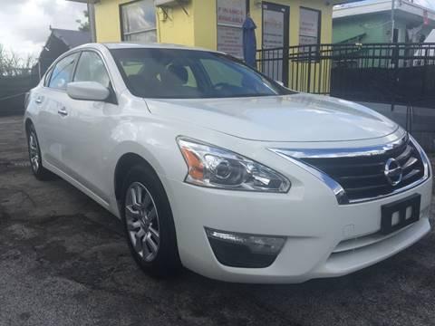 2015 Nissan Altima for sale at MIAMI AUTO LIQUIDATORS in Miami FL