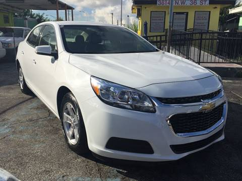 2016 Chevrolet Malibu Limited for sale at MIAMI AUTO LIQUIDATORS in Miami FL