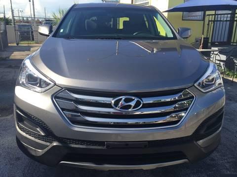 2015 Hyundai Santa Fe Sport for sale at MIAMI AUTO LIQUIDATORS in Miami FL