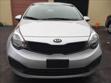 2013 Kia Rio for sale at MIAMI AUTO LIQUIDATORS in Miami FL