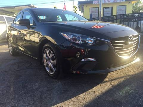 2014 Mazda MAZDA3 for sale at MIAMI AUTO LIQUIDATORS in Miami FL