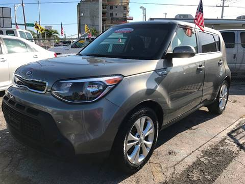 2014 Kia Soul for sale at MIAMI AUTO LIQUIDATORS in Miami FL