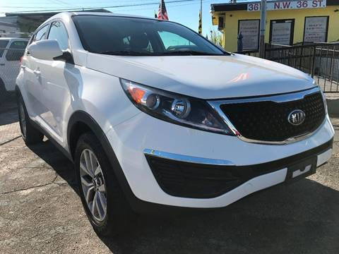 2016 Kia Sportage for sale at MIAMI AUTO LIQUIDATORS in Miami FL