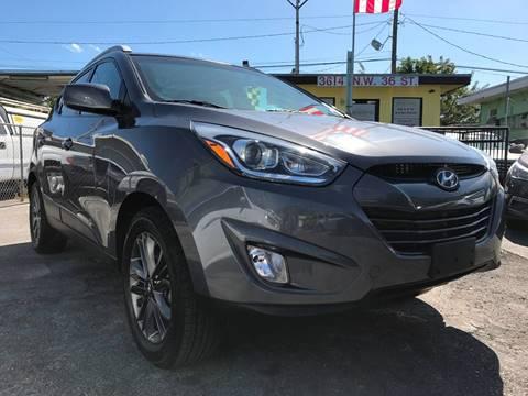 2015 Hyundai Tucson for sale at MIAMI AUTO LIQUIDATORS in Miami FL