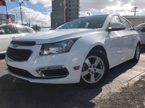 2016 Chevrolet Cruze Limited for sale at MIAMI AUTO LIQUIDATORS in Miami FL