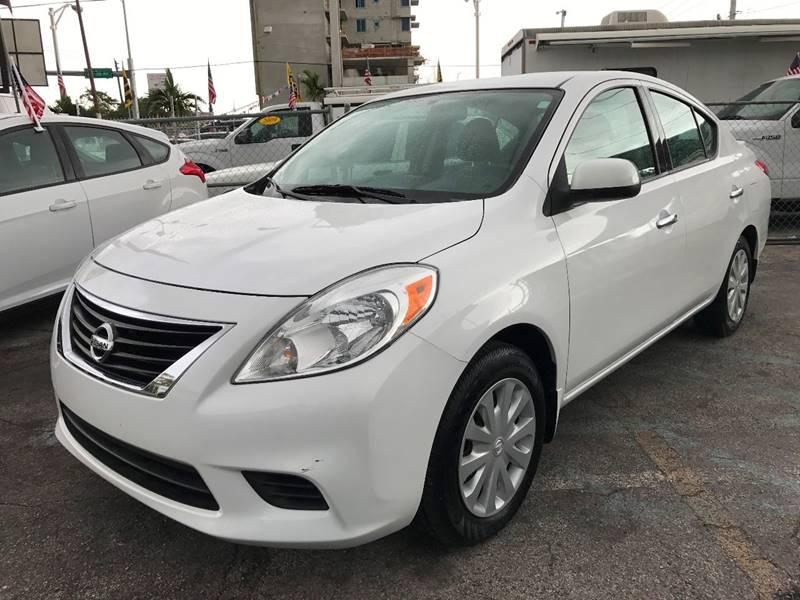 2014 Nissan Versa 1.6 SV 4dr Sedan - Miami FL