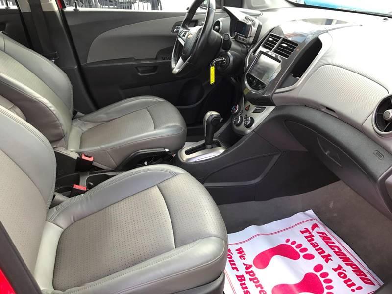 2015 Chevrolet Sonic LTZ Auto 4dr Sedan - Miami FL