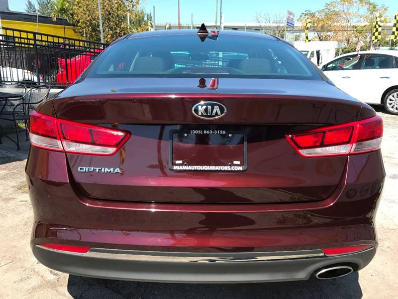 2016 Kia Optima LX 4dr Sedan - Miami FL