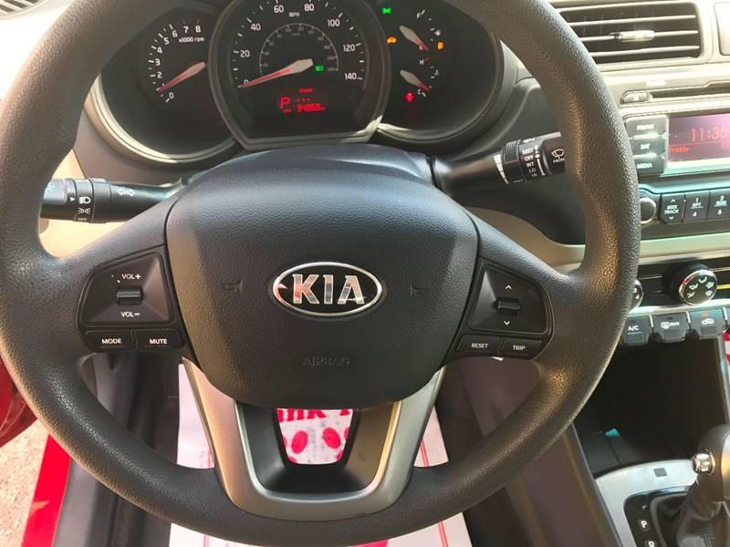 2015 Kia Rio LX 4dr Sedan 6A - Miami FL