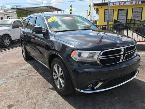 2014 Dodge Durango for sale at MIAMI AUTO LIQUIDATORS in Miami FL