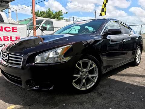 2012 Nissan Maxima for sale at MIAMI AUTO LIQUIDATORS in Miami FL