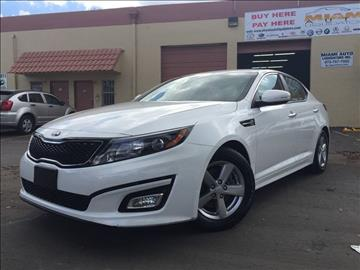 2014 Kia Optima for sale at MIAMI AUTO LIQUIDATORS in Miami FL