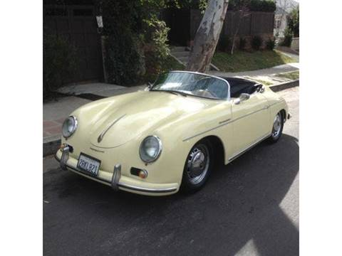 Porsche 356 Speedster For Sale Carsforsale Com