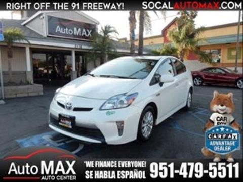 2014 Toyota Prius Plug-in Hybrid for sale in Norco, CA