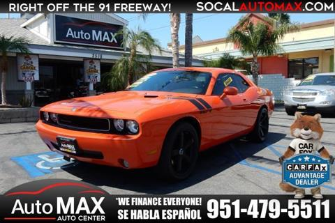 2009 Dodge Challenger for sale in Norco, CA