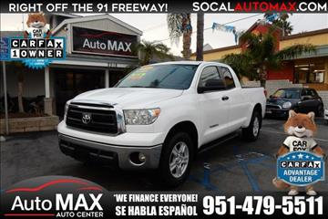 2013 Toyota Tundra for sale in Norco, CA