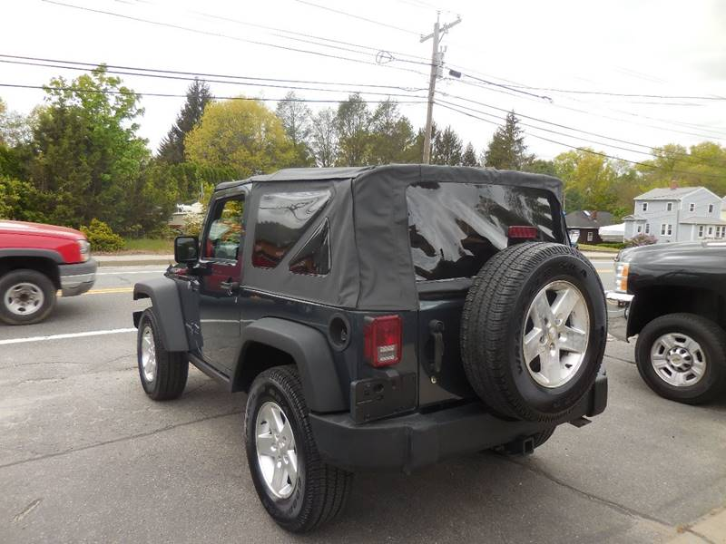 2007 Jeep Wrangler 4x4 Rubicon 2dr SUV - Smithfield RI