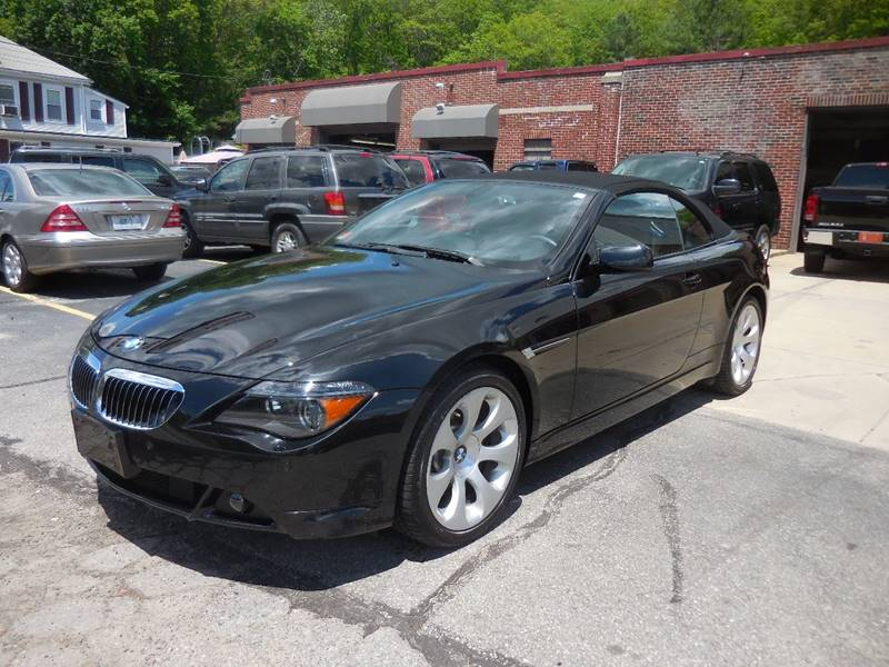 2007 Bmw 6 Series 650i 2dr Convertible In Smithfield RI  401 Auto